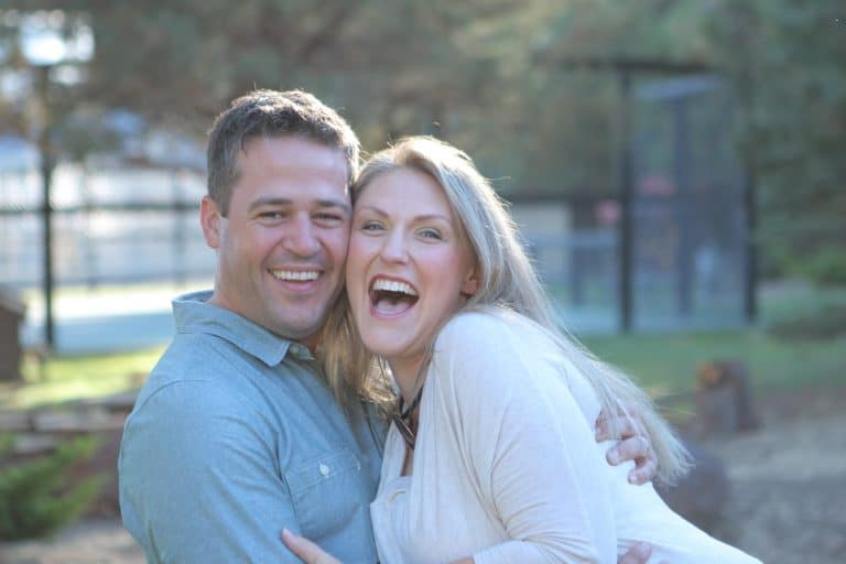 I'm Sorry, We Don't Do Sleepovers & 4 Reasons Why Not, Angie Tolpin and her husband from Courageous Mom.