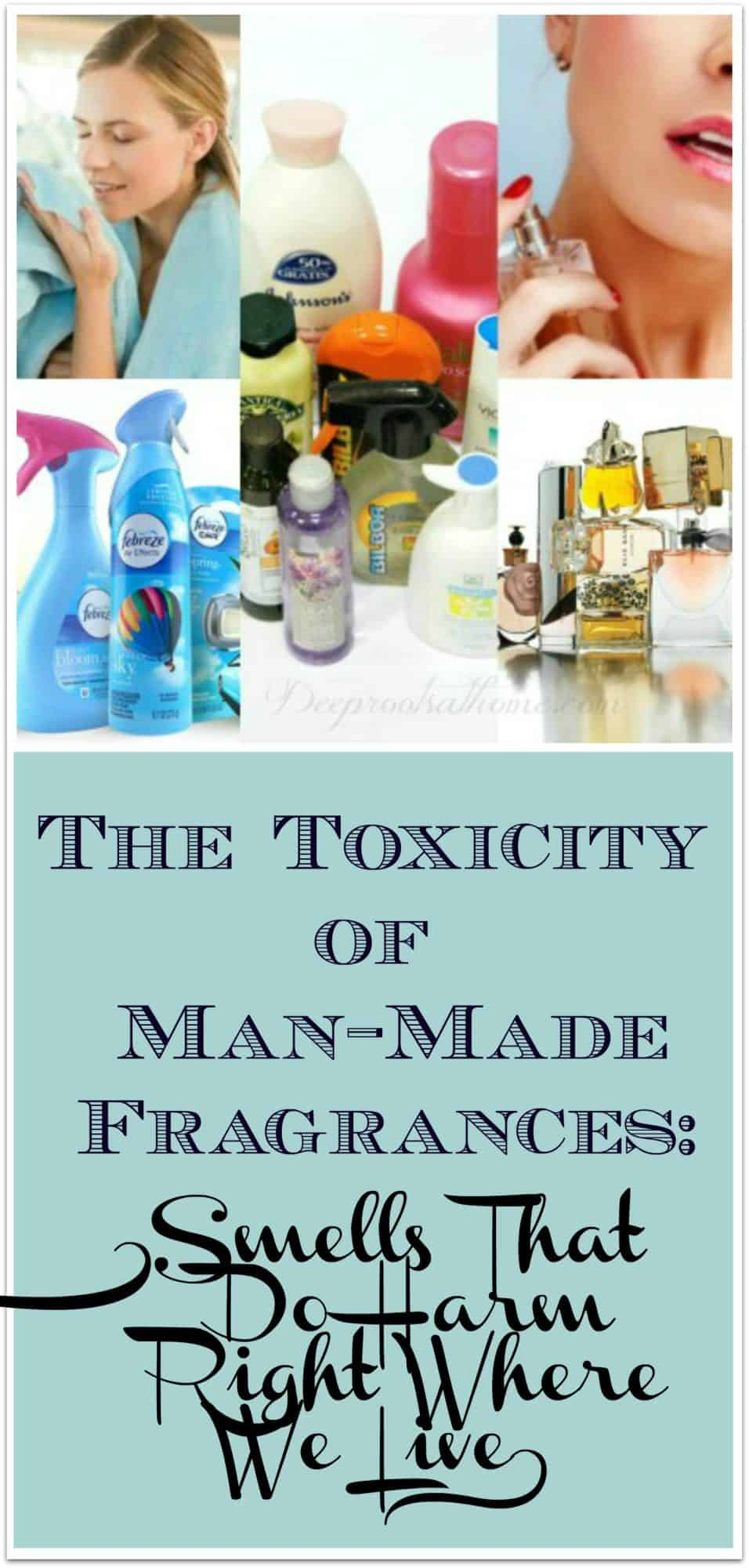Man-Made Fragrances & The Industry's Secrets: Smells That Make Us Sick, making you sick, sickening, personal care, household products, cancer-promoting chemicals, laundry products, long-term disease, puzzle, fragrant oils, essential oils, power to heal, disease, natural, medicinal, plant species, rare, artificial, man-made, cheap to make, corporations, synthetic fragrances, laboratory-made, air fresheners, colognes, perfumes, household cleaning products, candles, imitation fragrances, derivatives of petroleum, coal tar, smells, imitation, unique fragrances, marketing, signature fragrance, brand loyalty, beautiful packaging, toxicity, VOCs, volatile organic compounds, benzene derivatives, aldehydes, ketones, denaturants, causing cancer, birth defects, central nervous system disorders, allergic reactions, research, quick access to the brain, neurotoxic, carcinogenic, chemists, fabric softener sheets, Bounce, Febreze, scented products, narcotic effcts, hormone-like effects, attract opposite sex, dangerous to health, asthma, Is Your Health Being Destroyed by Toxic Fragrances?, John P. Thomas, book, daily exposure, addiction, benzene, dichlorobenzene, solvent, respiratory distress, sudden heart attack, DDt compounds, bleaching agents, poisoning, sense of smell, cripple immune system, researching mom, headache, respiratory congestion, distress, automobile exhaist, factories, Korean spicebush, butterfly bushes, healing, life-giving, plants, environmental illness, Multiple Chemical Sensitivity, (MCS), impaired sense of smell, low-level anesthetics, halothane, enflurane, and methoxyflurane, bonding glue, methyl-methacrylate, hip replacements, hypersensitive, PubMed, detergent aisle, lawn care aisle, sickening,