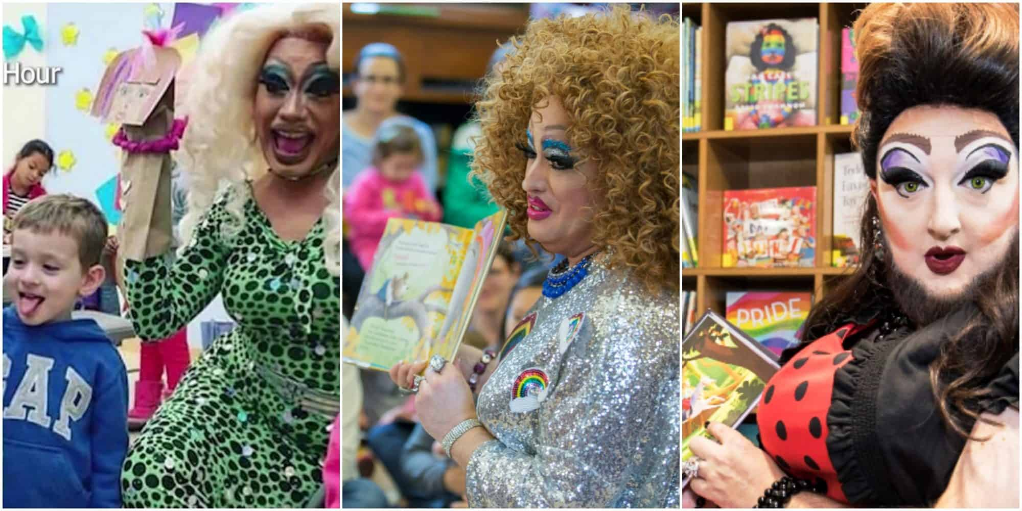 Books Unhealthy For Children {Recent Newbery, Caldecott & YA}, Drag Queen shows