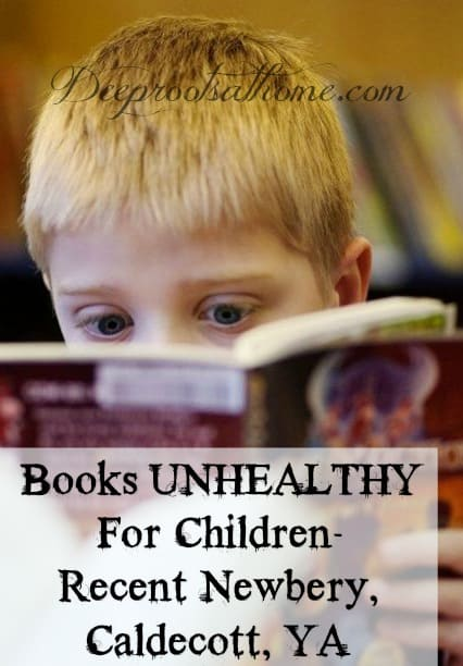 Books Unhealthy For Children- Recent Newbery, Caldecott, YA