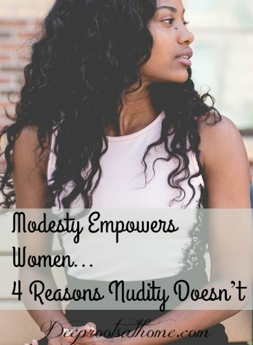 Modesty Empowers Women...and 4 Reasons Nudity Doesn't, a beautiful, feminine, classy black girl