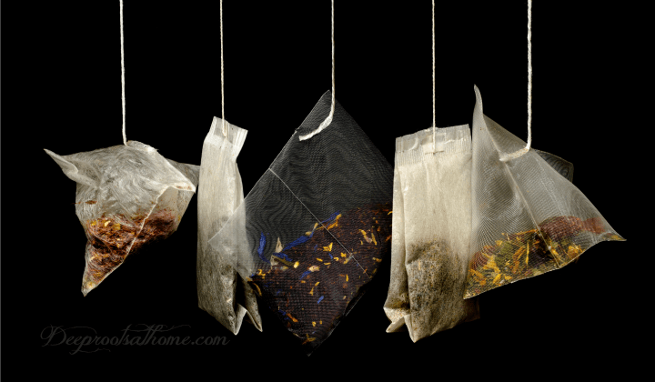 Chemicals and Pesticides Found In Popular Tea Brands & Tea Bags, plastic tea bags, unbleached tea bags,