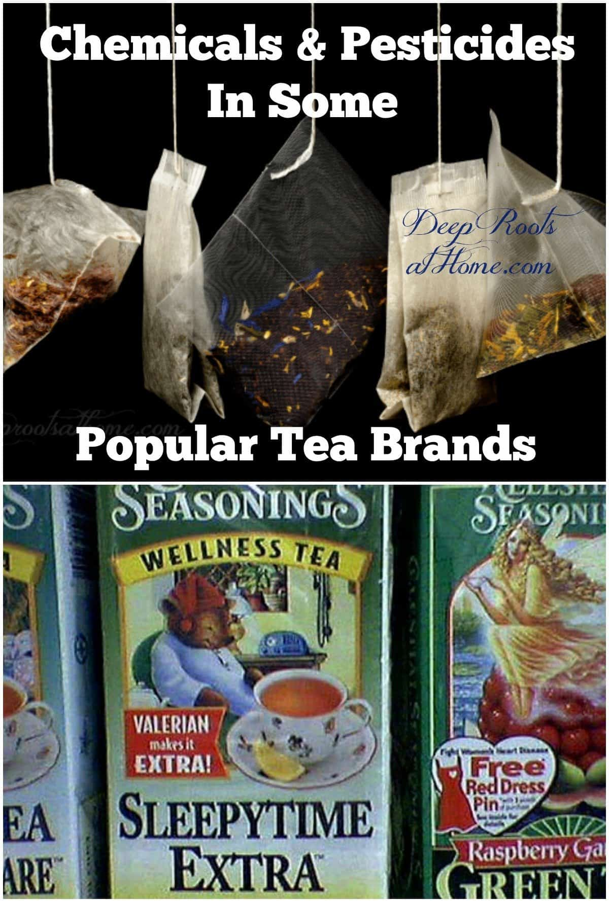 The Lowdown On Chemicals & Pesticides In Some Popular Tea Brands