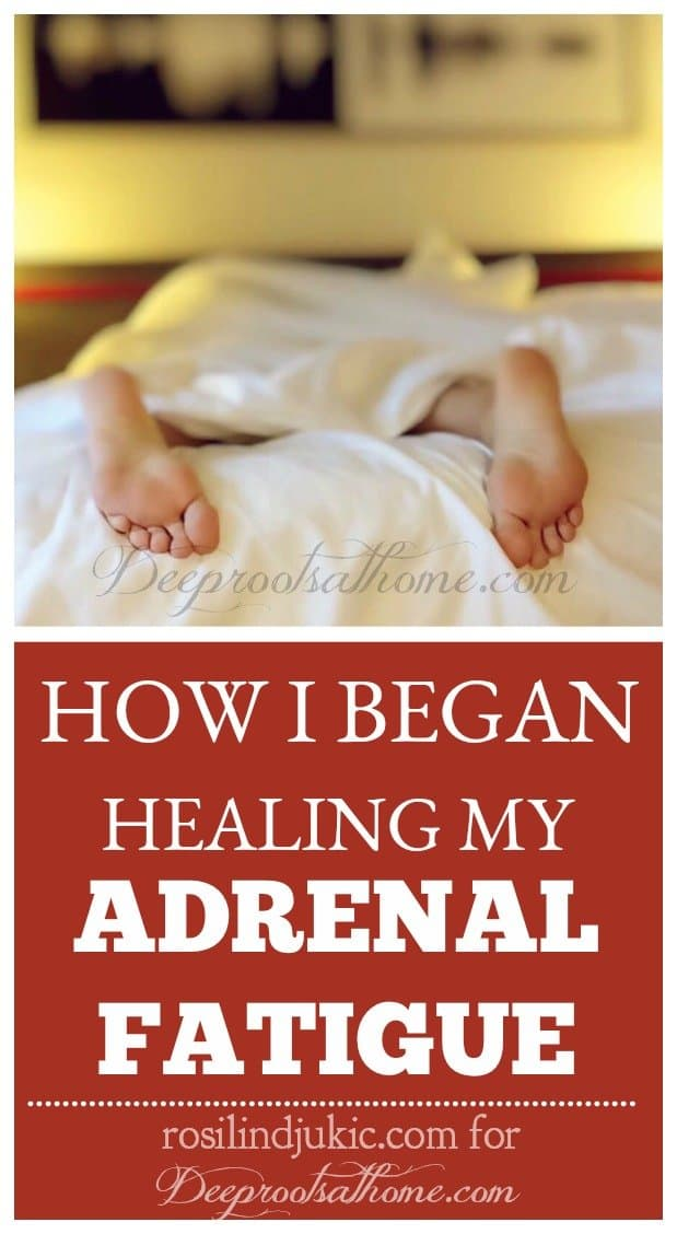 How I Began Healing My Adrenal Fatigue By Rosilind Jukic? Sacked out asleep on the bed