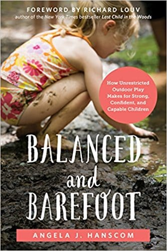 book 'Balanced and Barefoot' by Angela Hanscom,