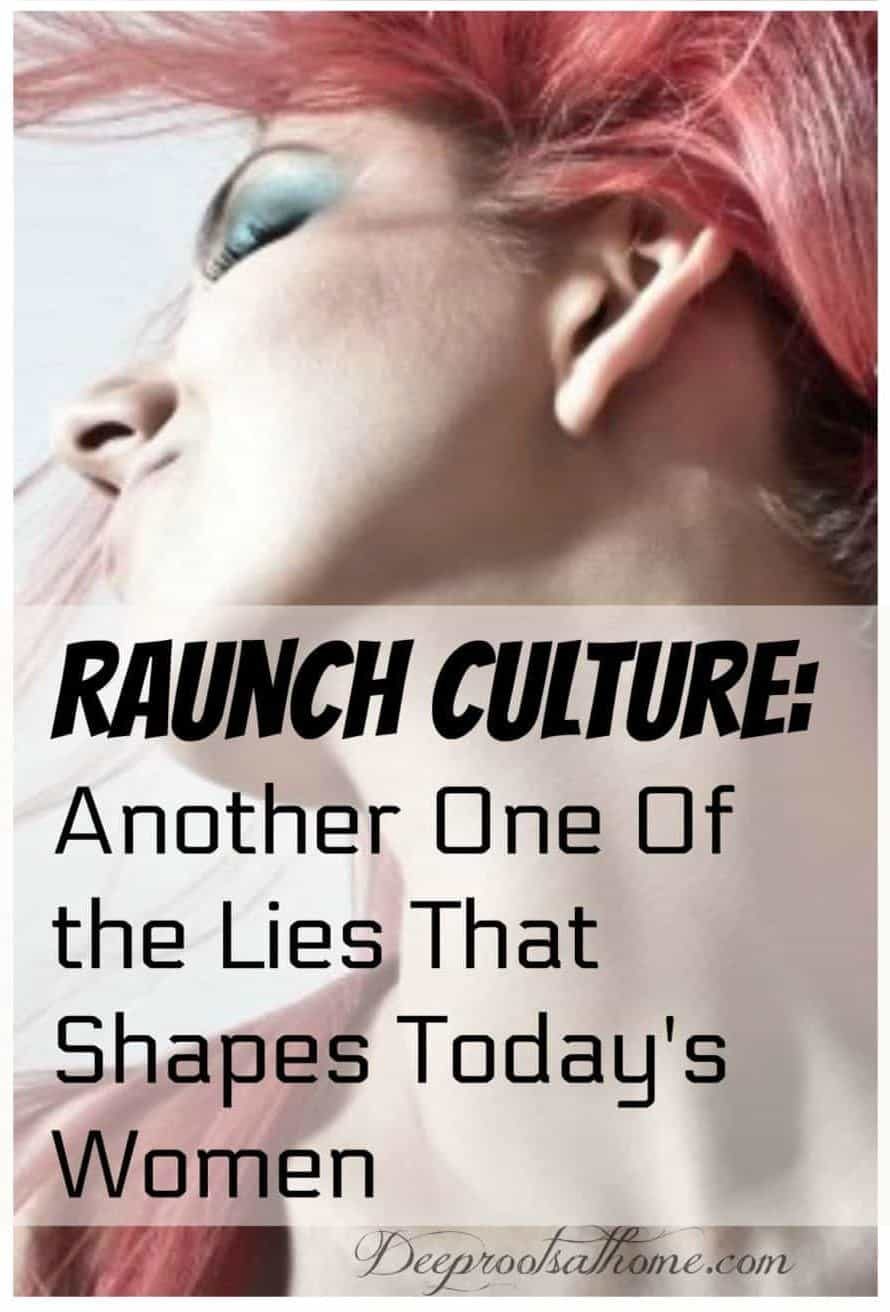 Raunch Culture: 4 Pervasive Lies That Shape Today's Women Under 25. A woman with e=wild pink hair