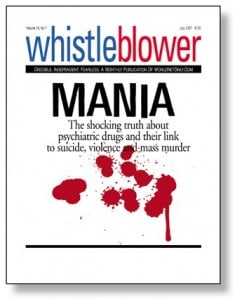 Whistle Blower Mania expose booklet.