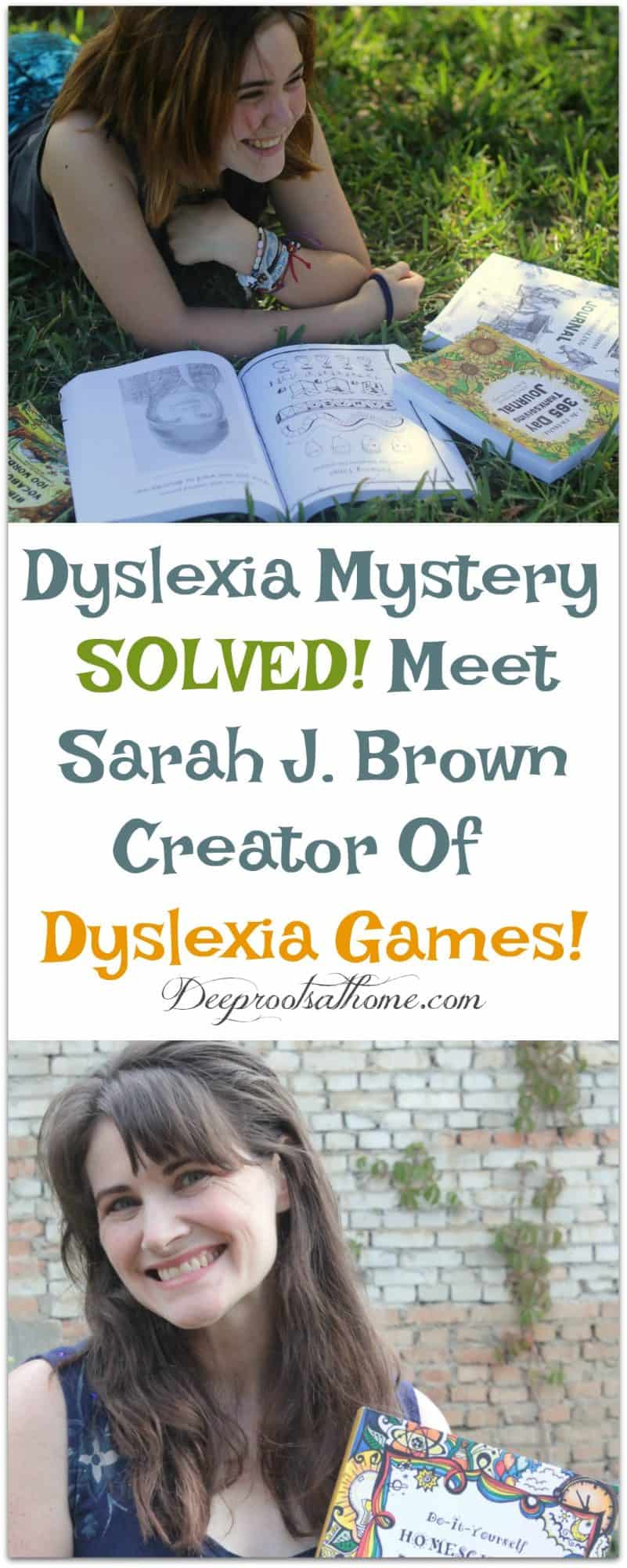 Dyslexia Mystery SOLVED! Meet Sarah J. Brown Creator Of Dyslexia Games!, Products from Dyslexia Games