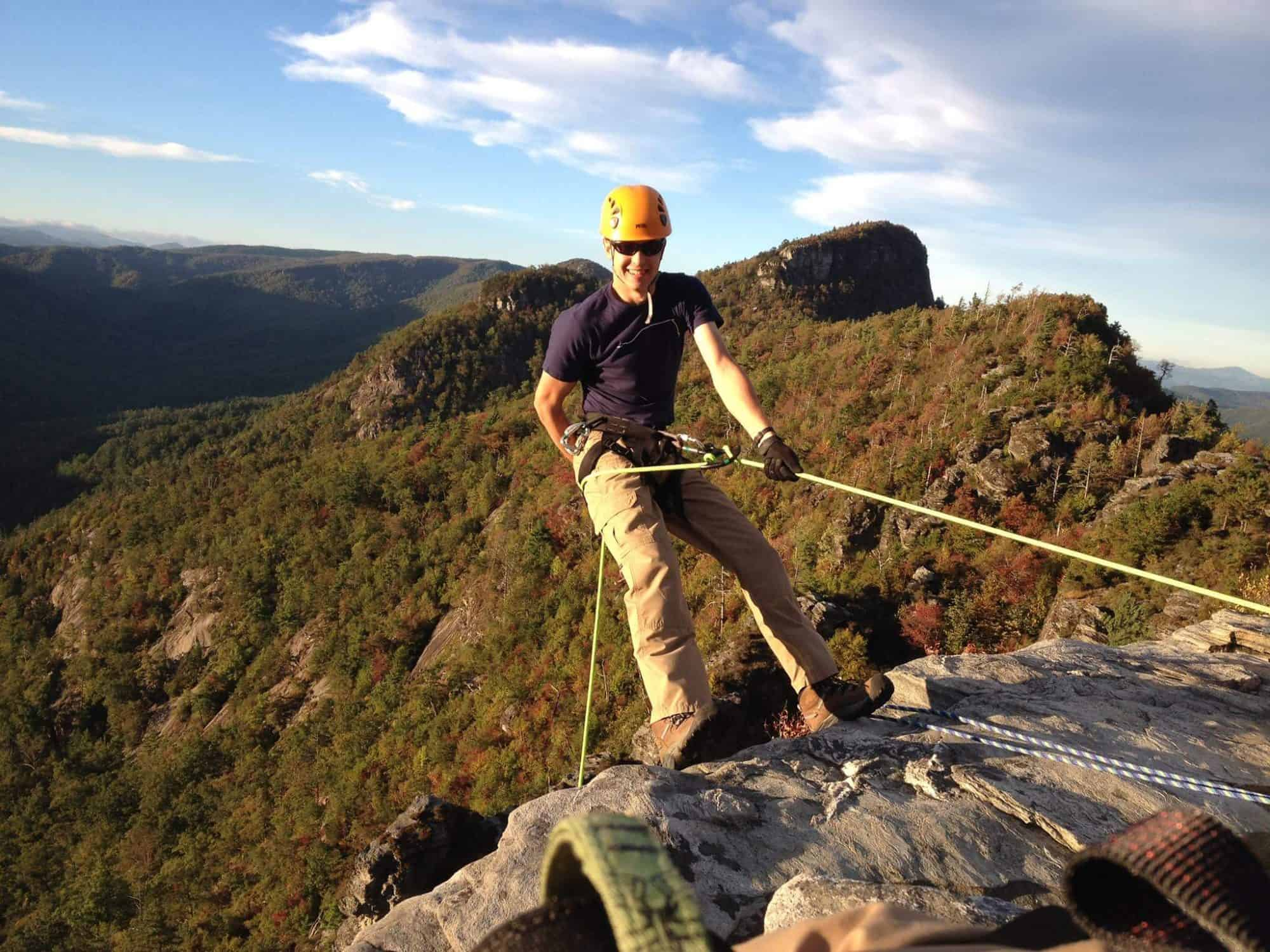 Grapefruit Seed Extract: Broad-Spectrum Anti-Microbial For MRSA, UTIs,Thrust & Candida. Our son rappelling over a cliff.