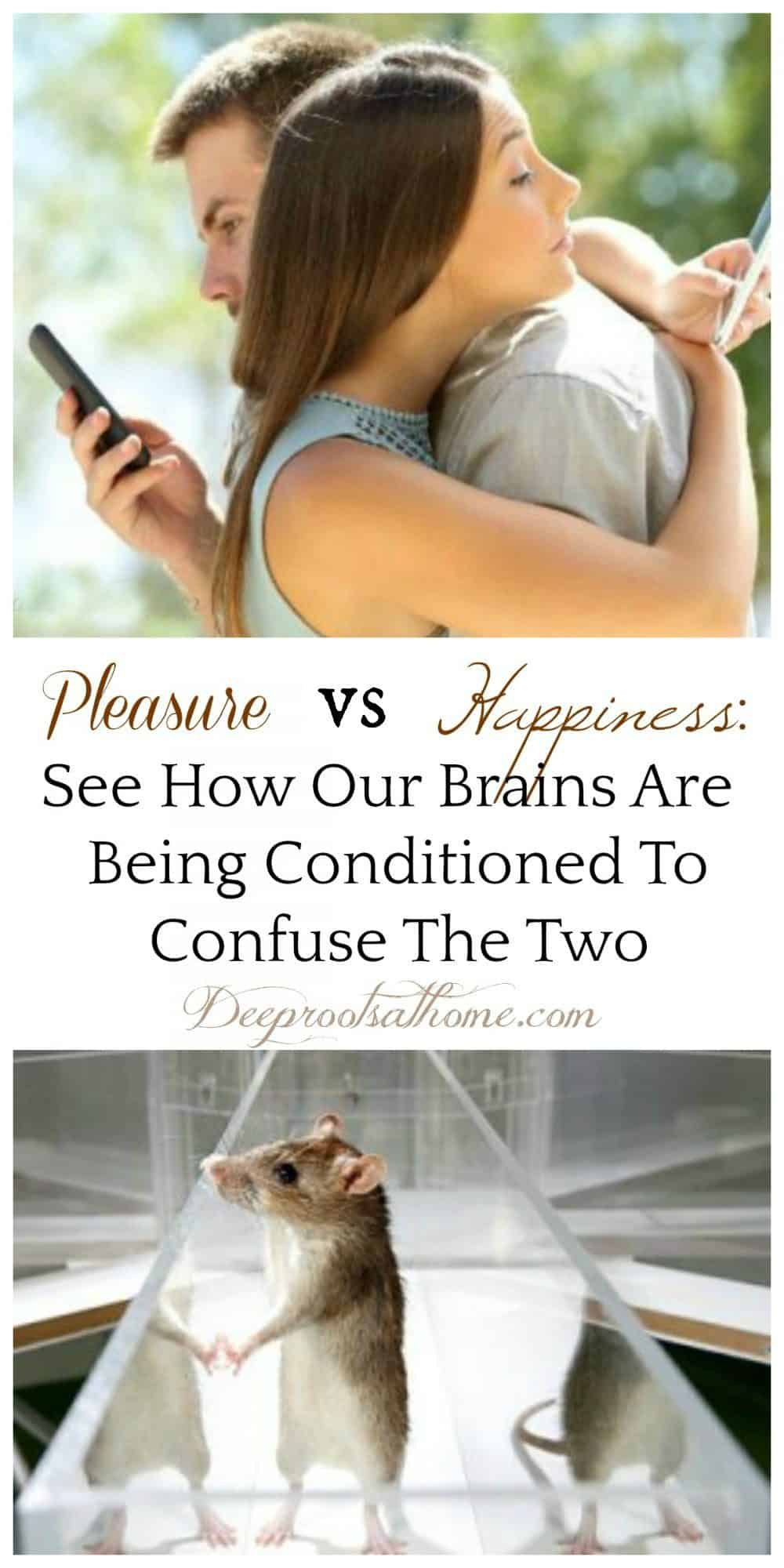 Pleasure Vs Happiness: See How Our Brains Are Being Conditioned To Confuse The Two, Google, product manager, Tristan Harris, apps, social media, phone, iPhone, tech companies, programming, brain hacking, family, parents, parenting, habit, Silicon Valley, slot machines, hijack, rewards, maze, design, products, pull a lever, Ramsey Brown, computer, smartphones, science, virtual reality, boring, toys, friends, conditioning, contentment, confused, satisfaction, money, clicks, Robert Lustig, Hacking of the American Mind, corporate takeover, substances, meaningful, purpose, taking, giving, video, technology, refined sugar, dopamine, serotonin, addiction, craving, emotions, neurotransmitters, downregulate, hit, rush, depression, happy, stress hormone, cortisol, dumbed-down, broke, depressed, multi-tasking, conversations, interruptions, transactions, shooting up, numbing, prefrontal cortex, addiction chemical, healthy relationships, obcessive, behavior, rats in maze, stressed, internet, variable ratio schedule, human brain, kids, children, destroying, loss of focus, weakening, substitute, Romans 15:13, connectedness, hope, joy,