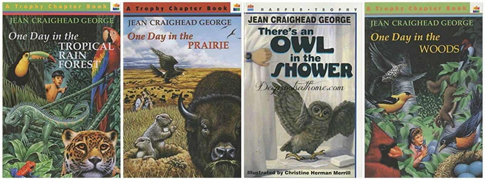 57 K - Gr. 5 True Story Nature & Science Books For Curious Kids. 4 Jean Craighead George books on the reading list.