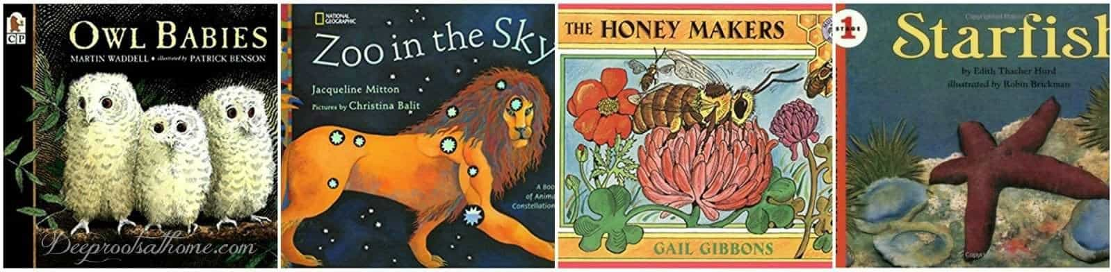 57 K - Gr. 5 True Story Nature & Science Books For Curious Kids. 4 books on the reading list.