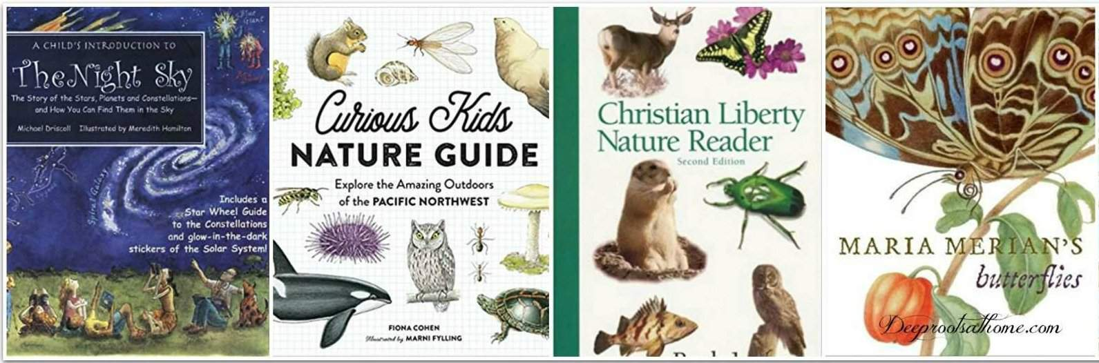 Raising Our Boys Through Nature Study & Enrichment. Nature books for teaching