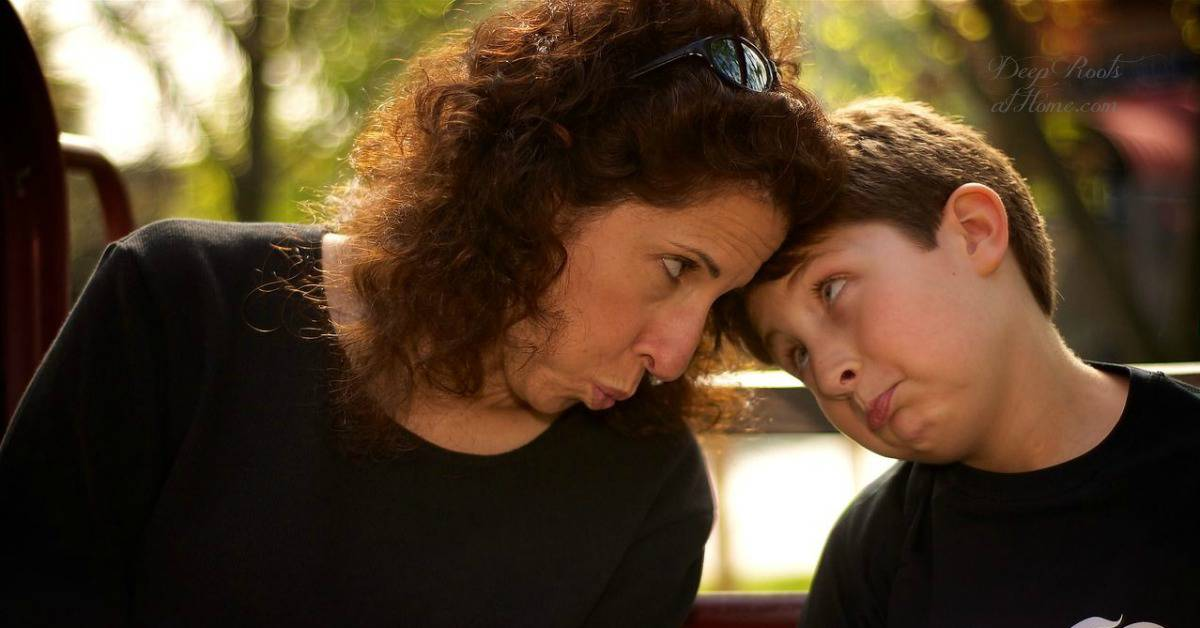 Are You a Boy-Mom? 9 Helpful Things We Can Learn About Our Sons. A mom and her son look each other in the eye