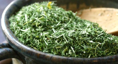Alfalfa Herb - Friend of Young Mothers & Those On Antibiotics. cut herb