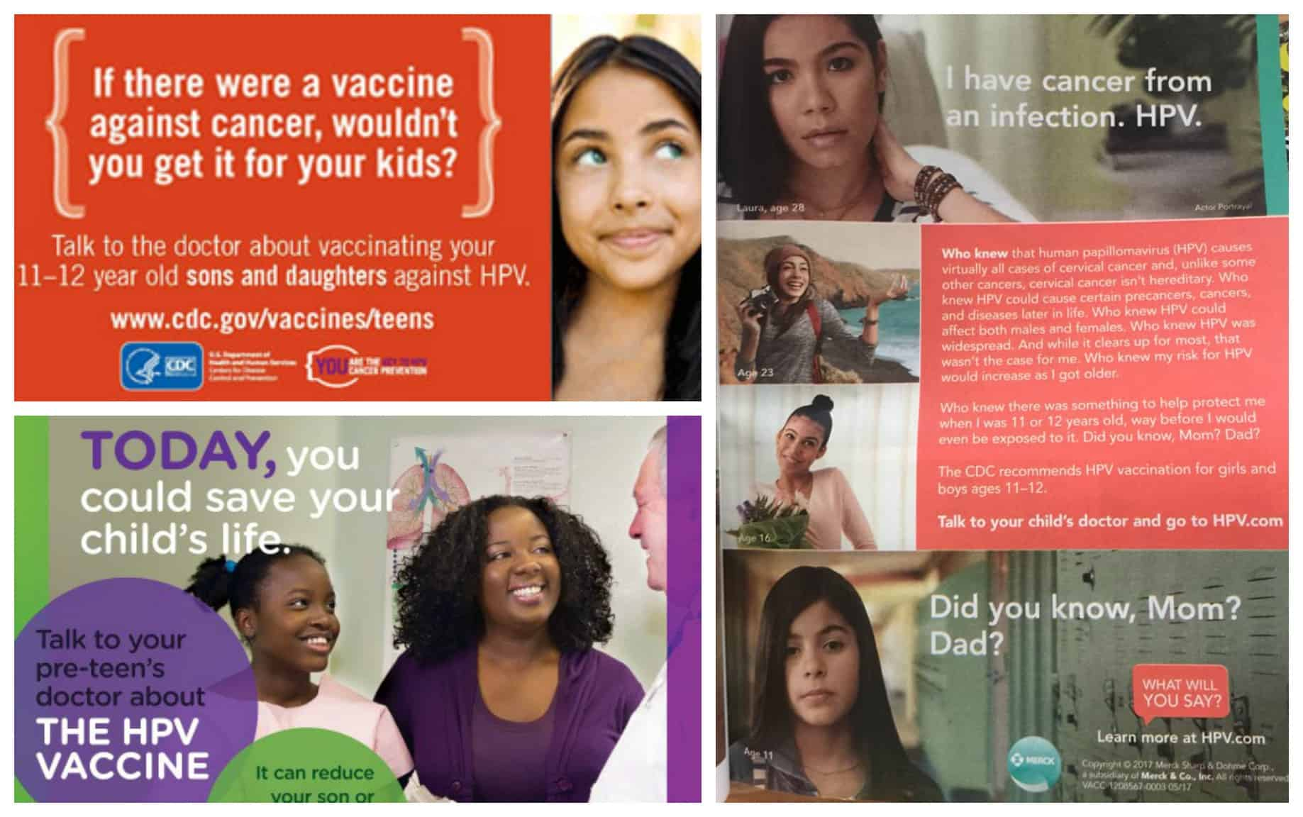 Pap Smear Amnesia: Pap Smear Proven Track Record for HPV Diseases. HPV vaccine ads guilting parents