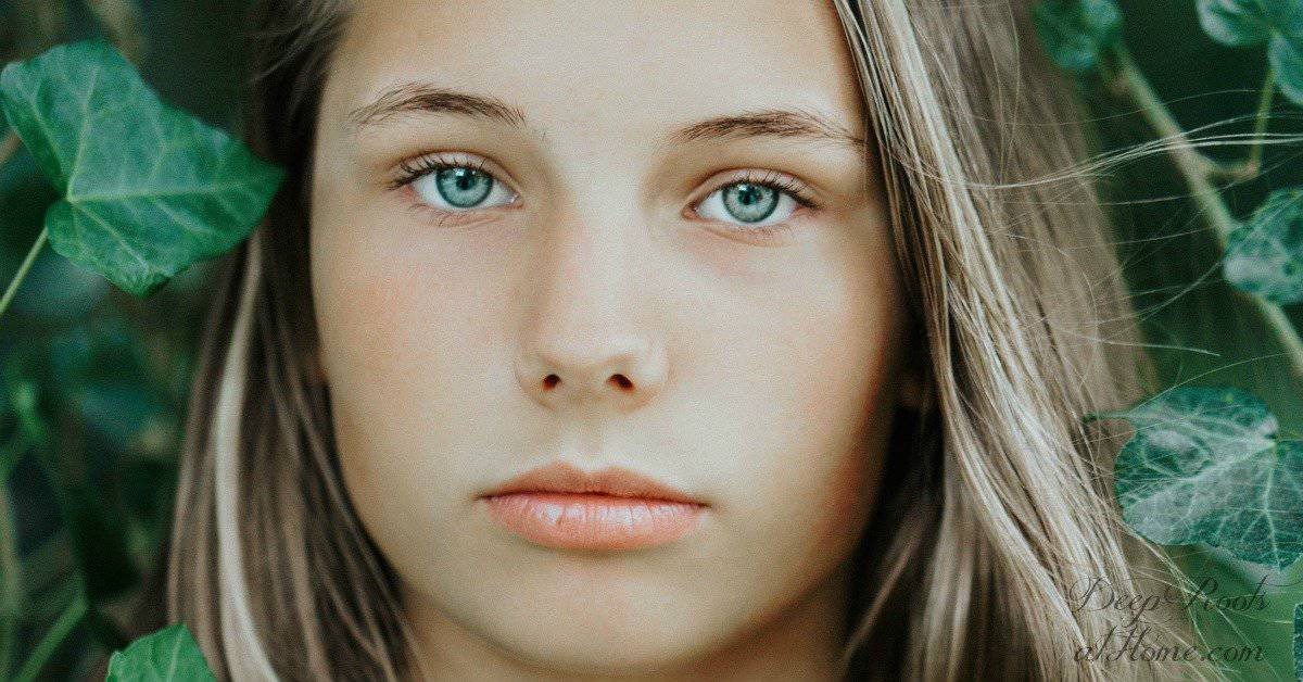 Examining Concerns and Data On the HPV Vaccine Gardasil. A beautiful young girl gazing at you