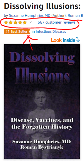 The book Dissolving Illusions