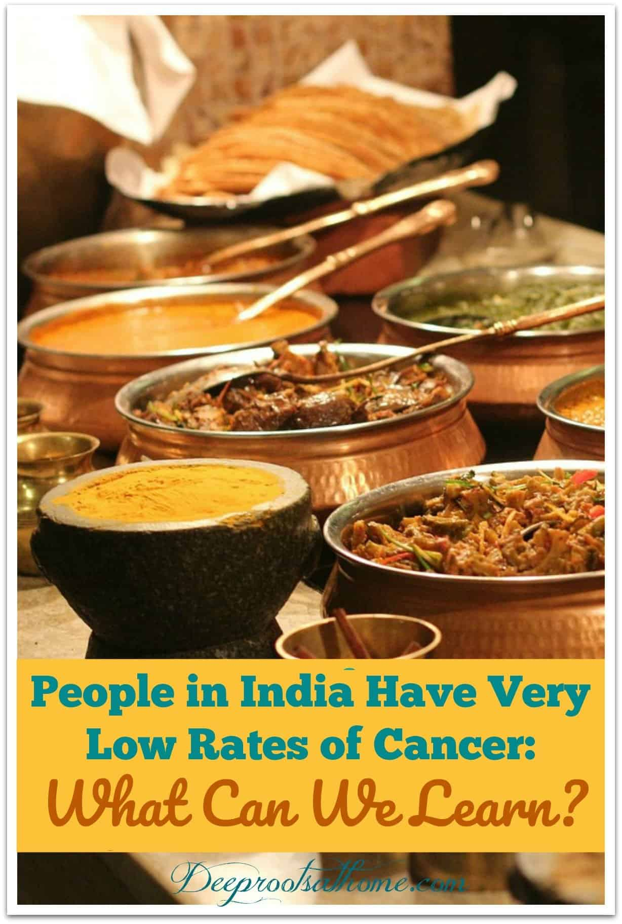 4 Things We Can Learn from the Lower Cancer Rates in India . Spices and Indian foods