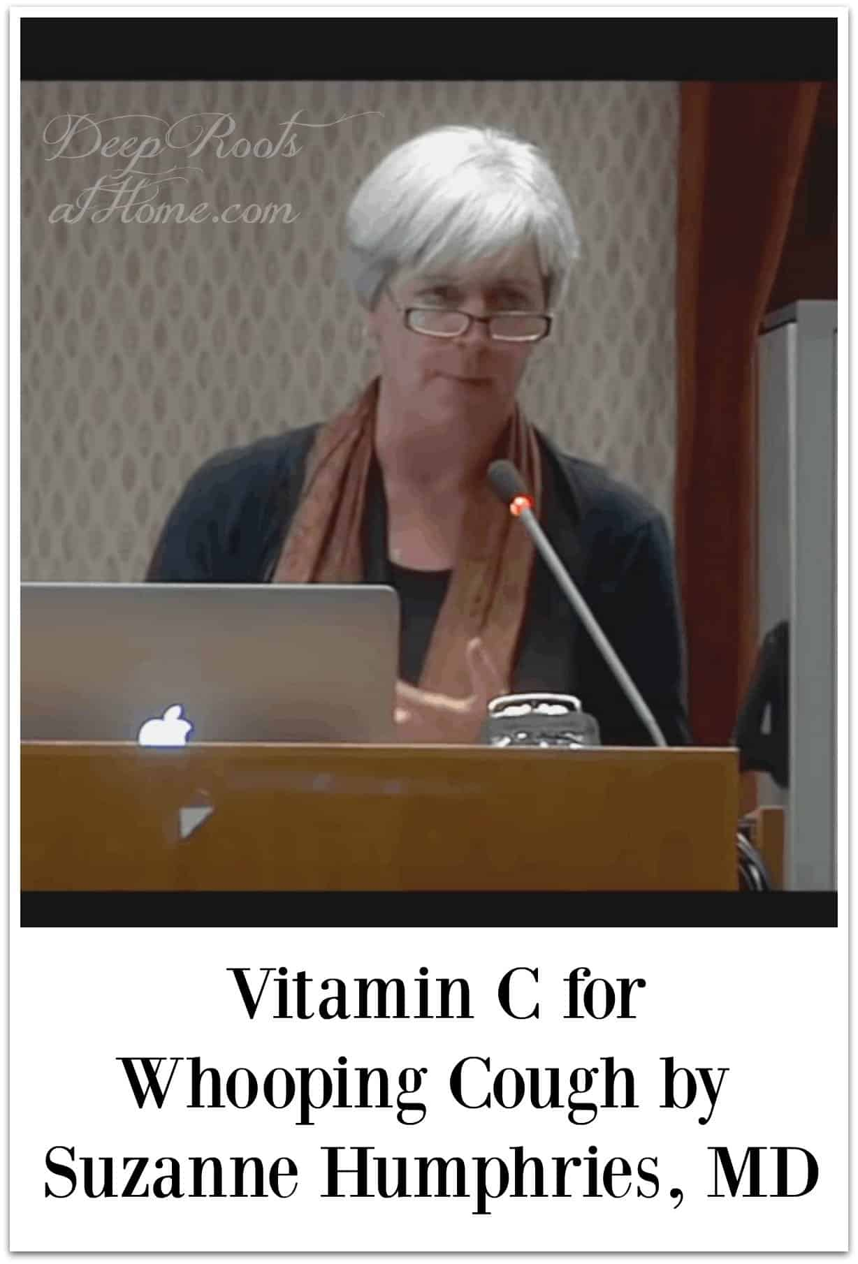 Vitamin C/Na Ascorbate for Whooping Cough by Suzanne Humphries, MD
