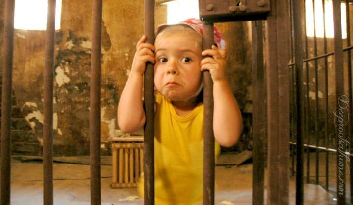 Antibiotics Make Children Anti-Social | Nano-Silver the Natural Alternative. A child behind bars