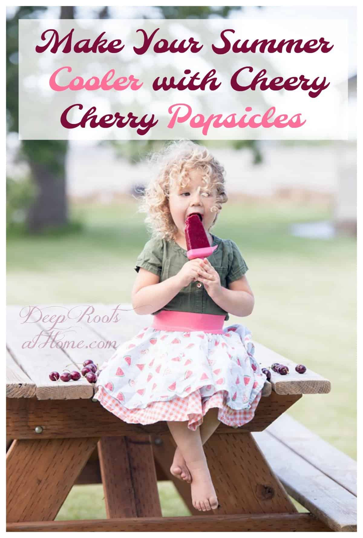Make Your Summer Cooler with Cheery Cherry Popsicles!