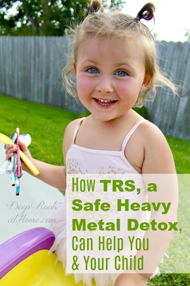 How TRS, a Safe Heavy Metal Detox, Can Help You & Your Child. Little girl with eye contact again