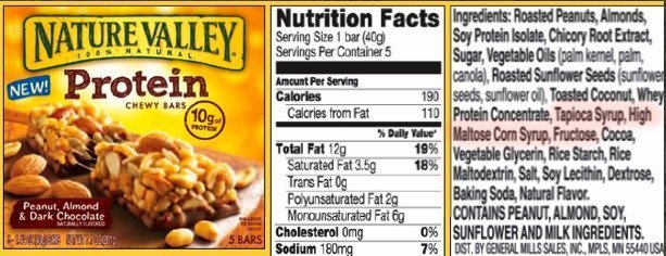 Scrambling to Stay Rich: The Sneaky Names for High Fructose Corn Syrup. protein bar
