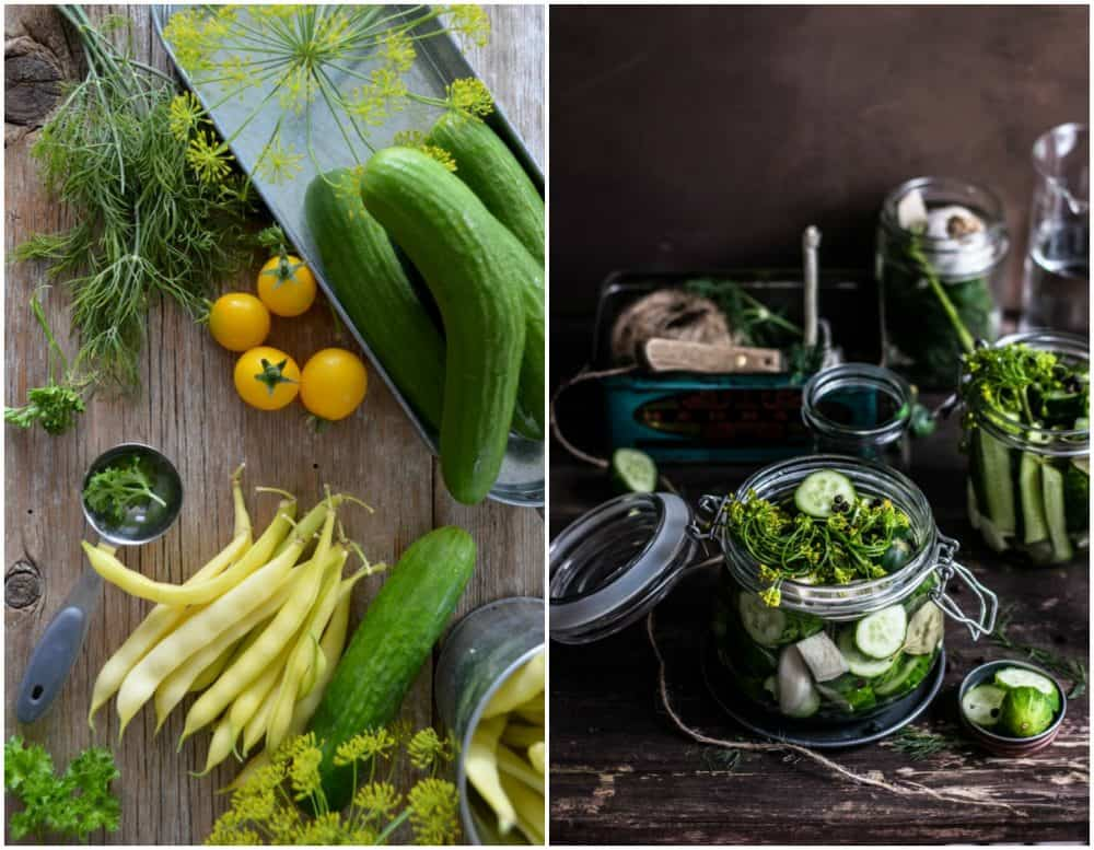 Making Refrigerator Pickles: Easy! No Canning, No Fermenting! variations