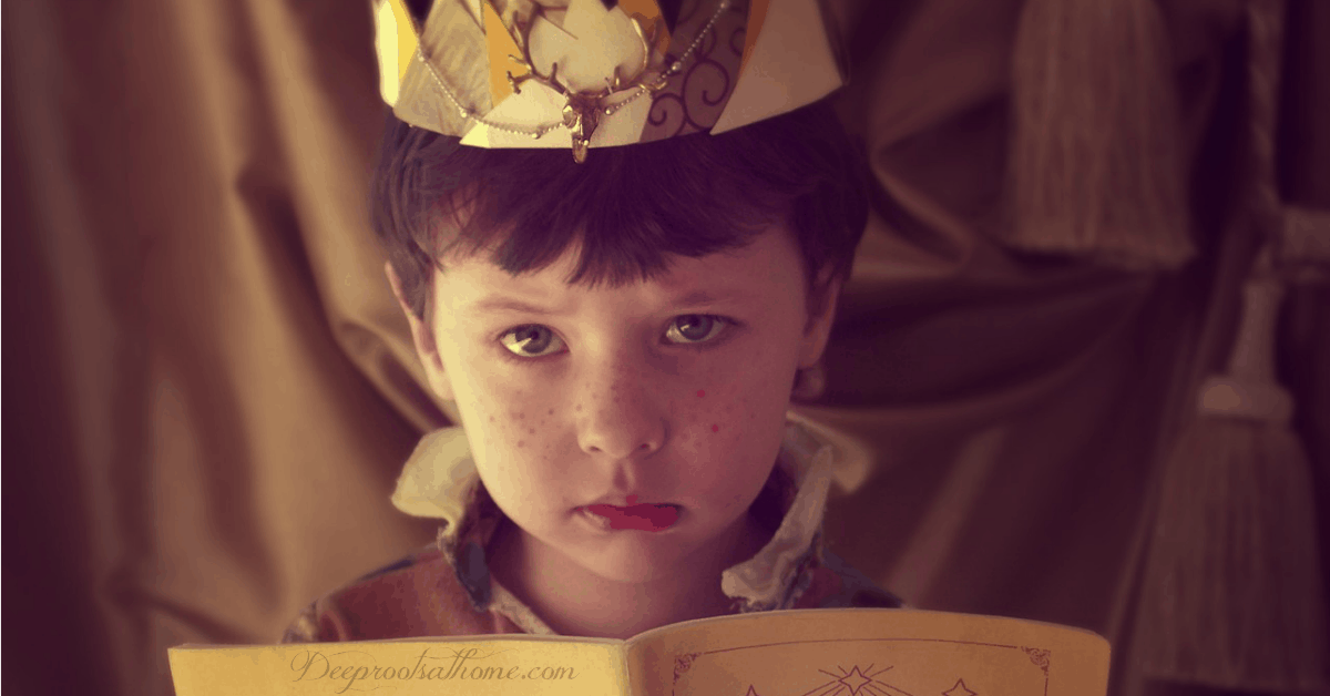 Why Are Kids Impatient, Bored, Friendless, and Entitled? boy with crown