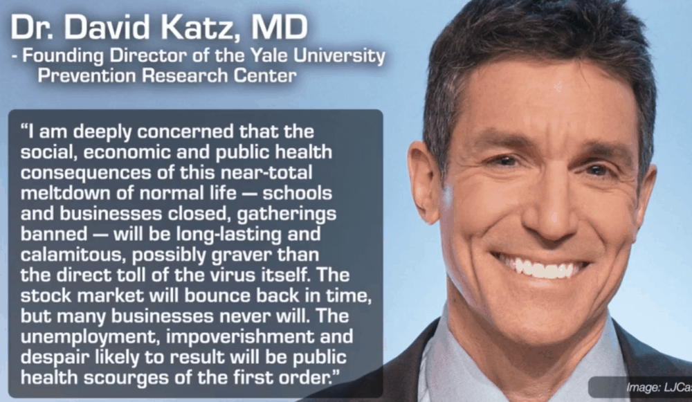 Opportunity To Research Our Futures In An Ongoing Battle of Agendas. Dr. David Katz, MD