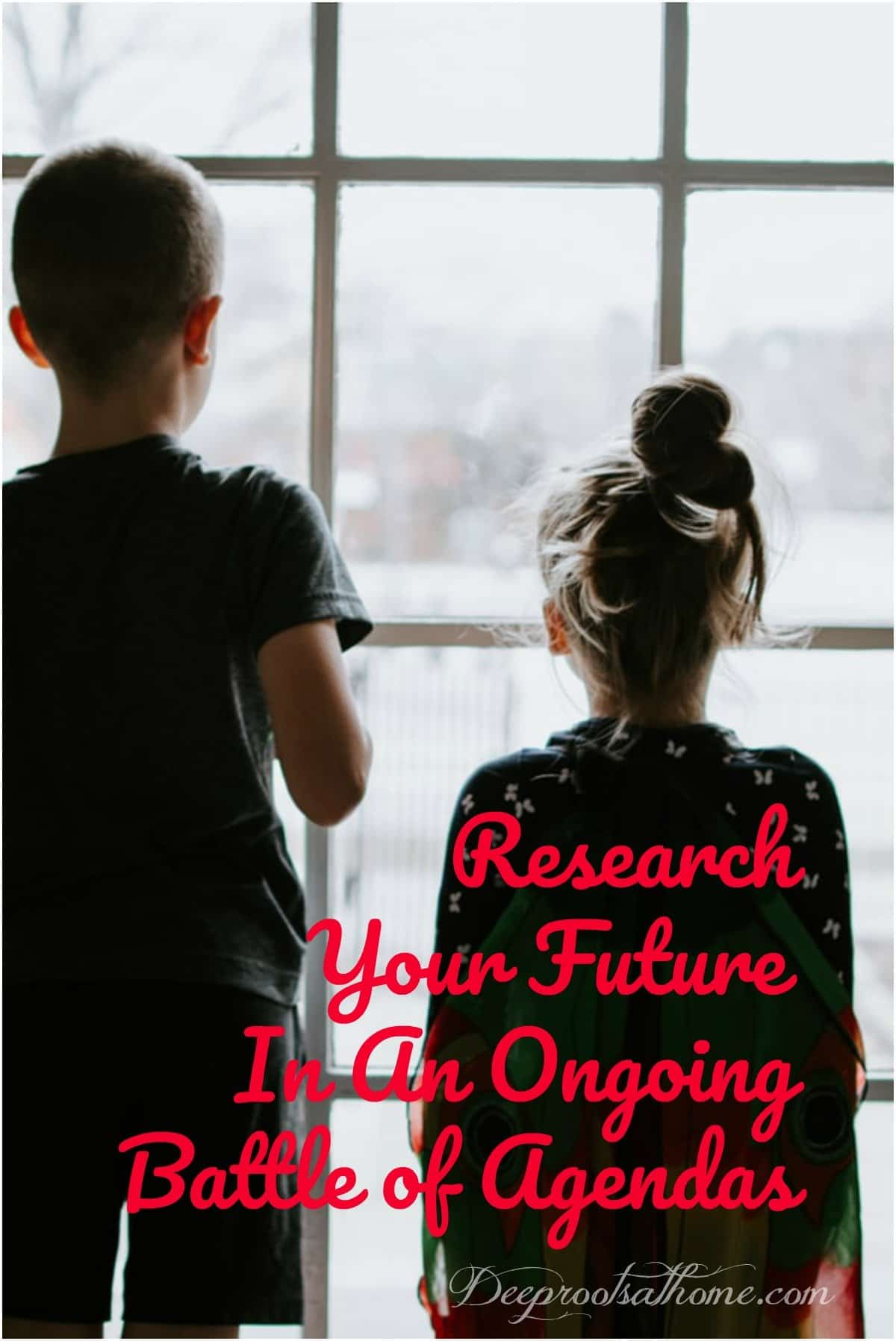 Research Your Future In An Ongoing Battle of Agendas