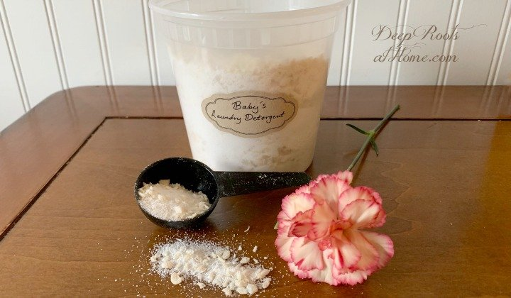 Easy DIY Laundry Detergent Recipe For Baby & You. carnation
