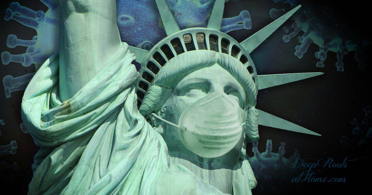 The Grooming of a Nation Has Taken Place Right Under Our Noses. Statue of Liberty