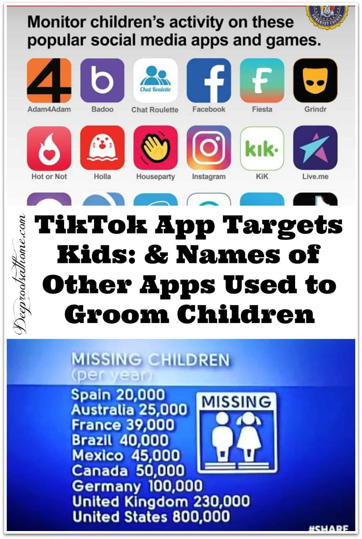 TikTok App Targets Kids: & Names of Other Apps That Groom Kids