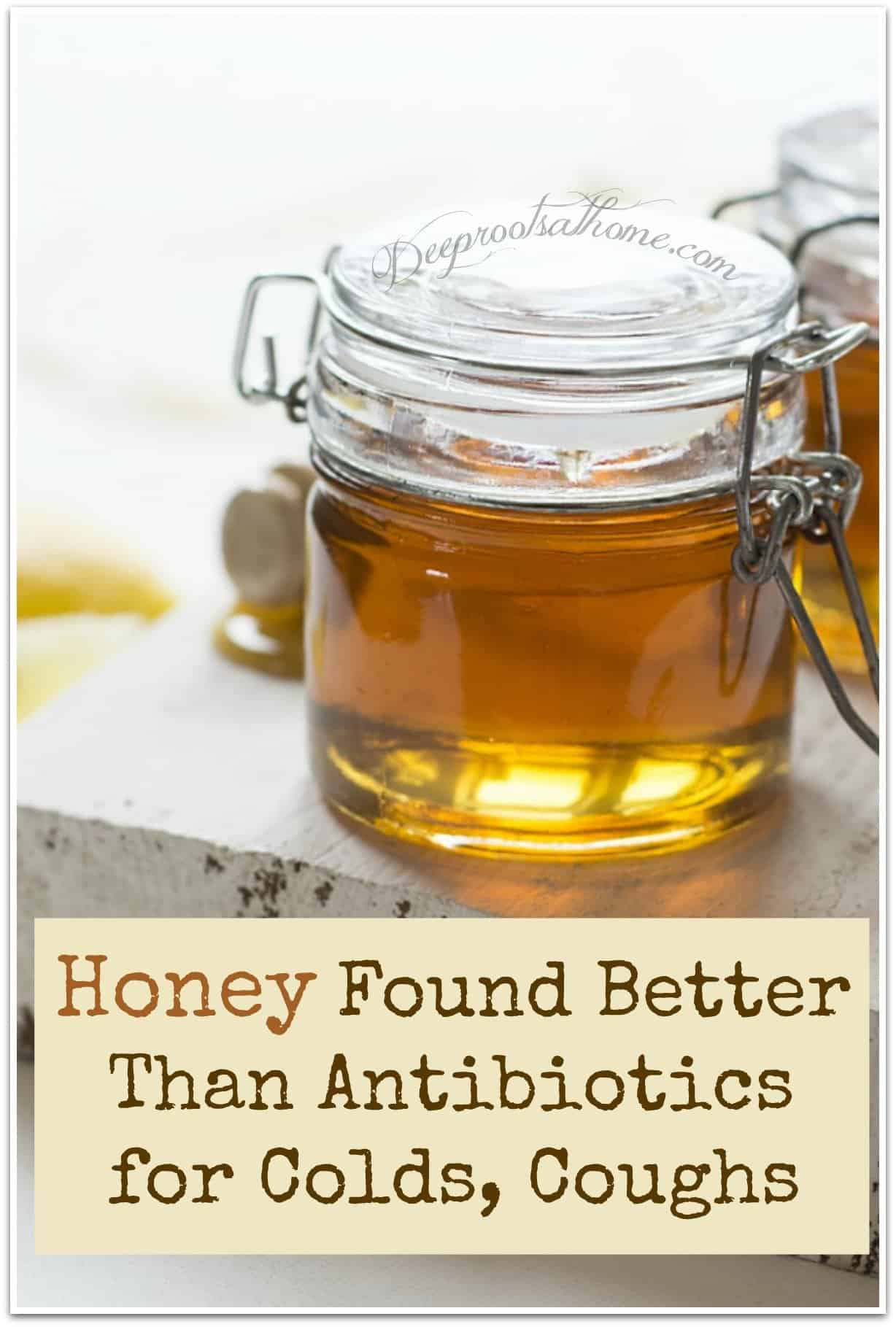 Honey Found Better Than Antibiotics for Colds, Coughs. jar