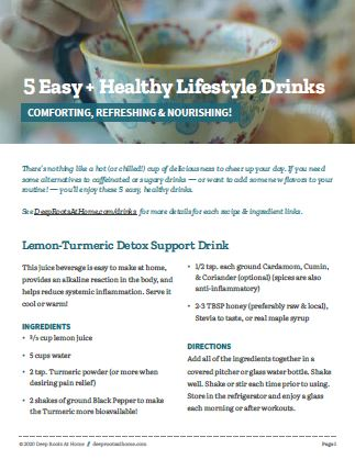 5 Wholesome Drink Recipes